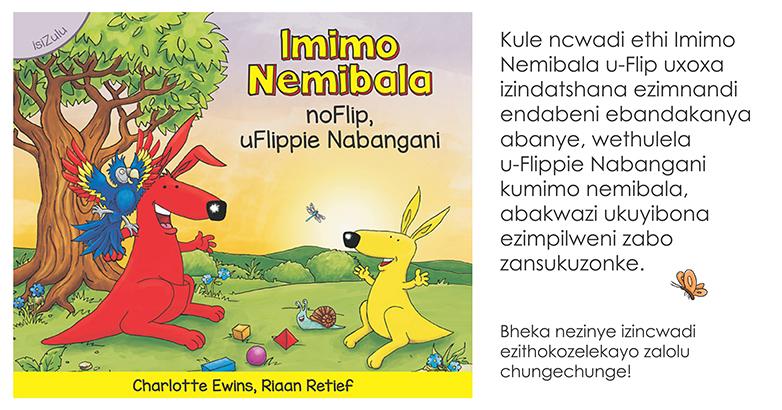 Featured isiZulu title – Imimo Nemibala noFlip, uFlippie Nabangani