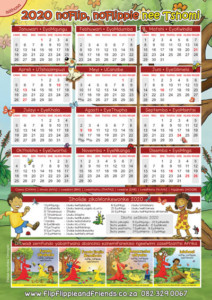 Flip Flippie and Friends isiXhosa Calendar