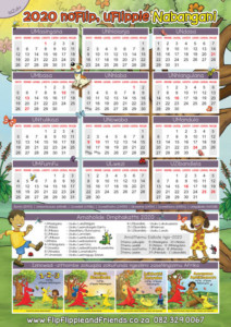 Flip Flippie and Friends isiZulu Calendar