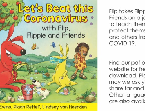 Featured Title – Let's Beat this Coronavirus with Flip, Flippie and Friends