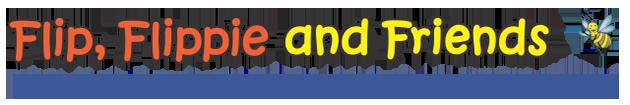 Flip Flippie and Friends Logo